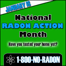 National Radon Month