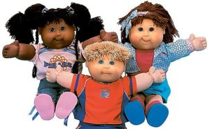 CABBAGE PATCH KIDS - DOLLS - DREAM TOYS 2004, THE TOP TEN TOYS FOR CHRISTMAS 2004, (ALPHABETICAL ORDER) BRATZ, CABBAGE PATCH KIDS, GAMES, DORA THE EXPLORER, LEAPSTER, POWER RANGERS, ROBOSAPIENS, TAMAGOTCHI, TRAMPOLINES, AND V-SMILE.OPS.